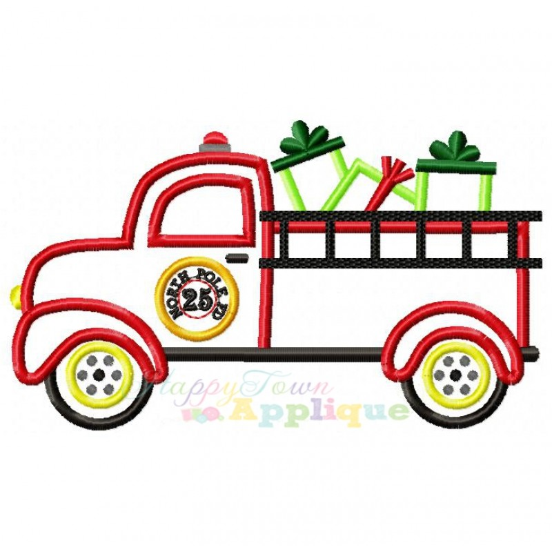 Showing post & media for Christmas fire truck cartoons.