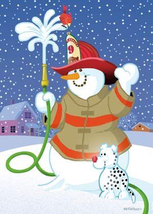 Fire SnowMan.
