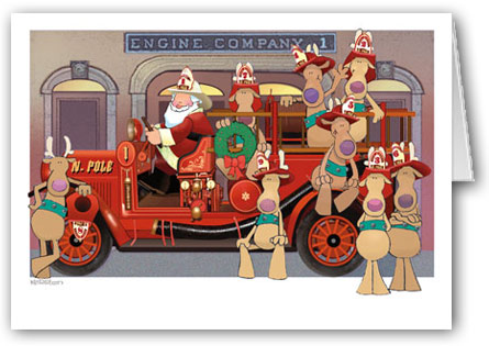 Stow Fire Department Santa Day 2014 : Stow Independent Online.