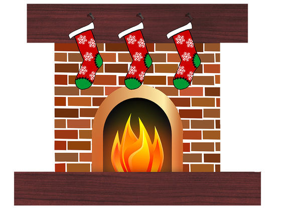 Christmas Fireplace Clipart & Christmas Fireplace Clip Art Images.