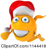 Free christmas fish clipart.