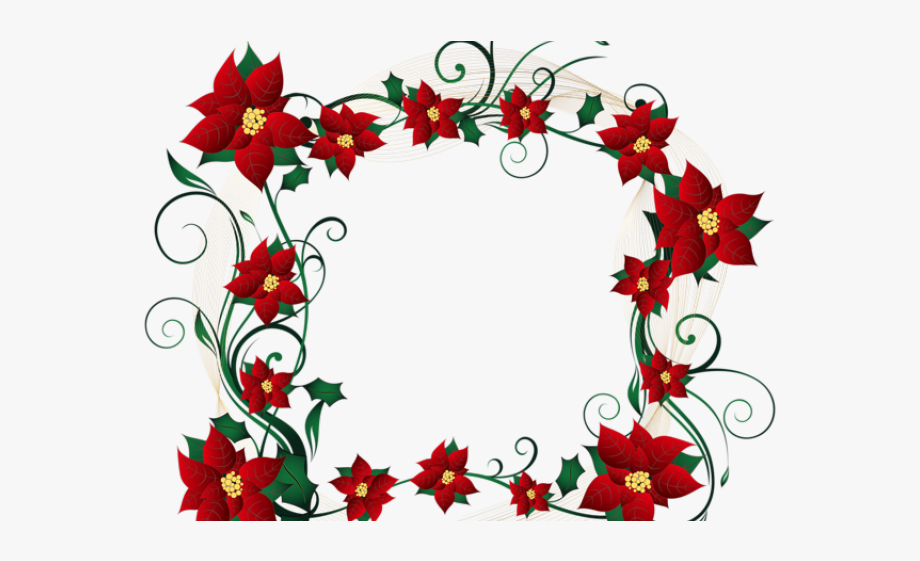 Decorative Border Clipart Transparent.