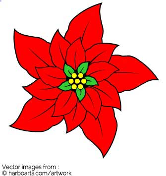 Download : Christmas Flower.