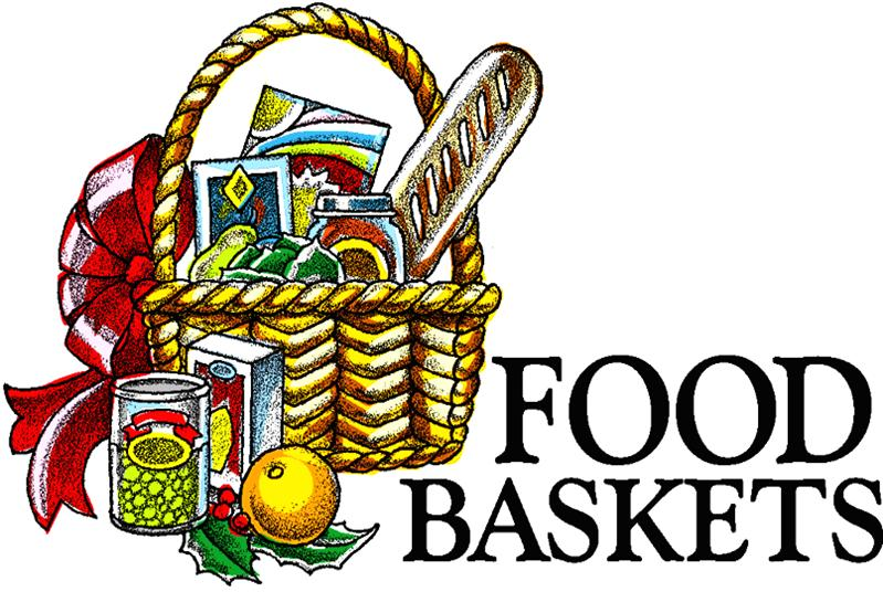 Food Basket Clipart.