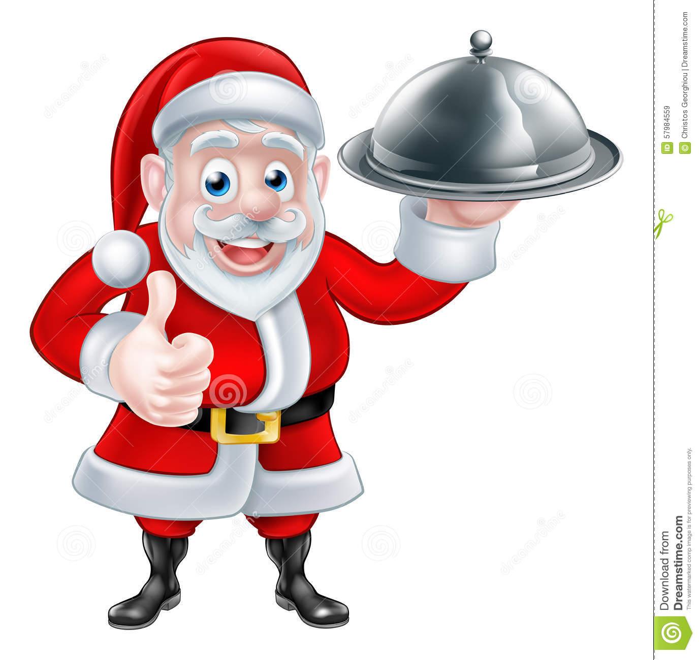Santa Food Clipart & Free Clip Art Images #23964.