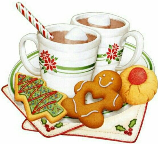 Christmas Food Clipart Images.