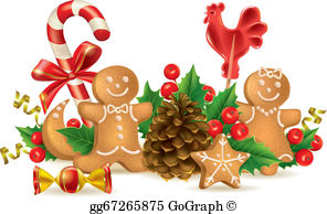 Christmas Food Clip Art.