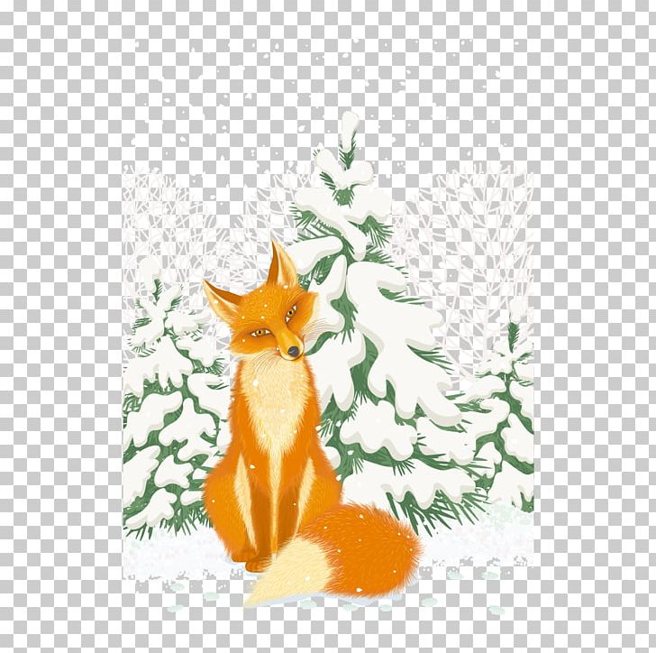 Red Fox Arctic Fox Illustration PNG, Clipart, Animals.