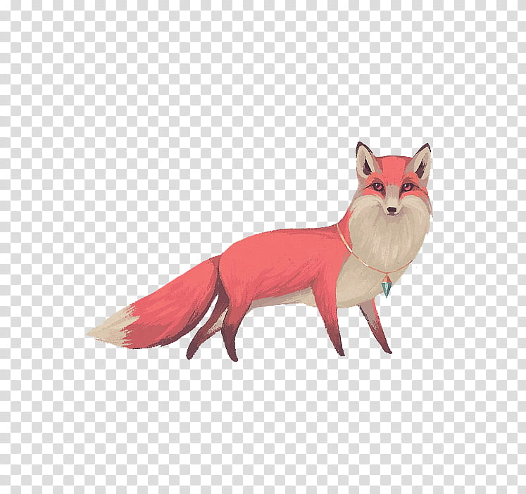 Christmas Resource , fox illustration transparent background.
