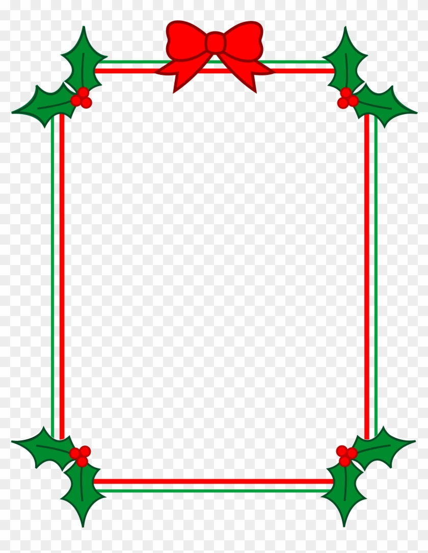 Xmas Stuff For Christmas Holly Clipart.