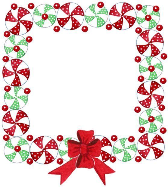 CHRISTMAS FRAME BORDER FRAMES BORDERS Christmas Attractive Frame.