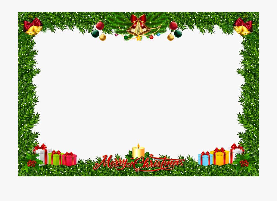 Christmas Frame Clipart.