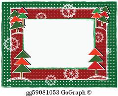 Christmas Frame Clip Art.