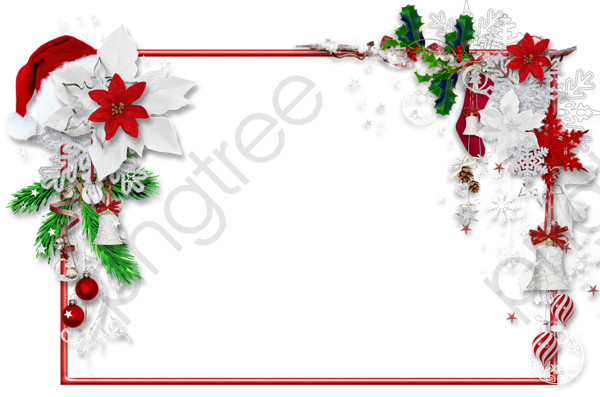 Christmas Frame Clipart Png.