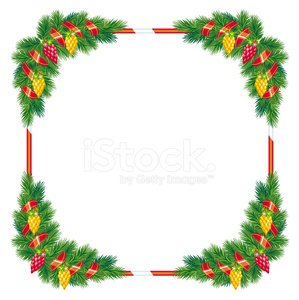 Christmas Frame premium clipart.