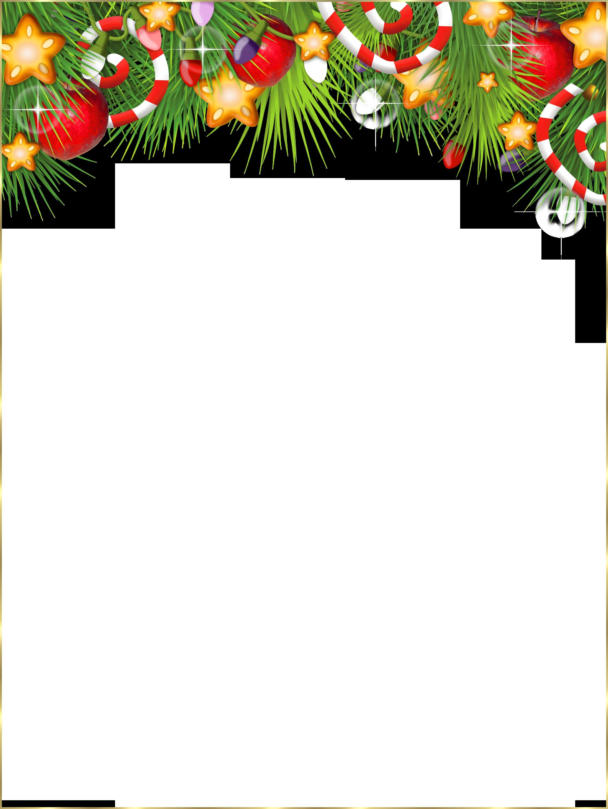 Christmas Frame Transparent Cute Transparent Christmas.