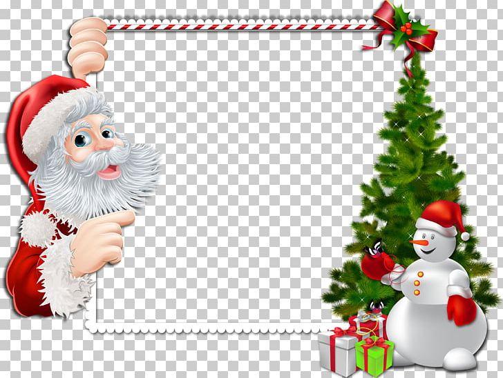 Santa Claus Borders And Frames Christmas Frames PNG, Clipart.