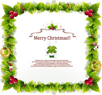 Christmas frame clipart free vector download (14,633 Free vector.