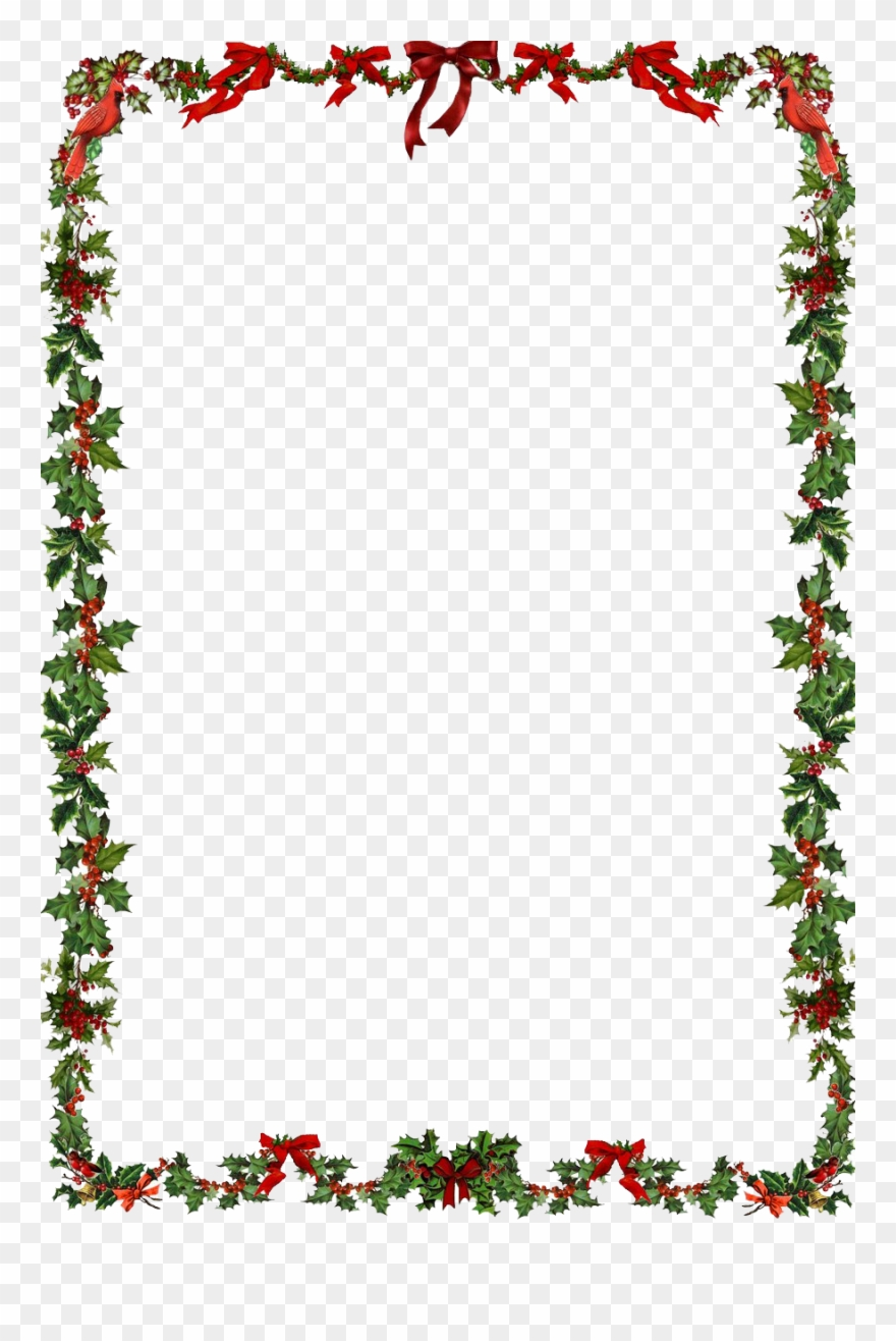 Christmas Frame Png Clipart Png.