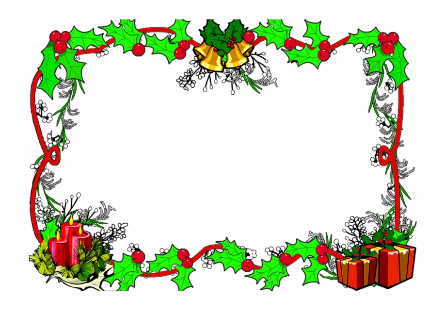 Christmas Border Frame Christmas Frame Border Christmas.