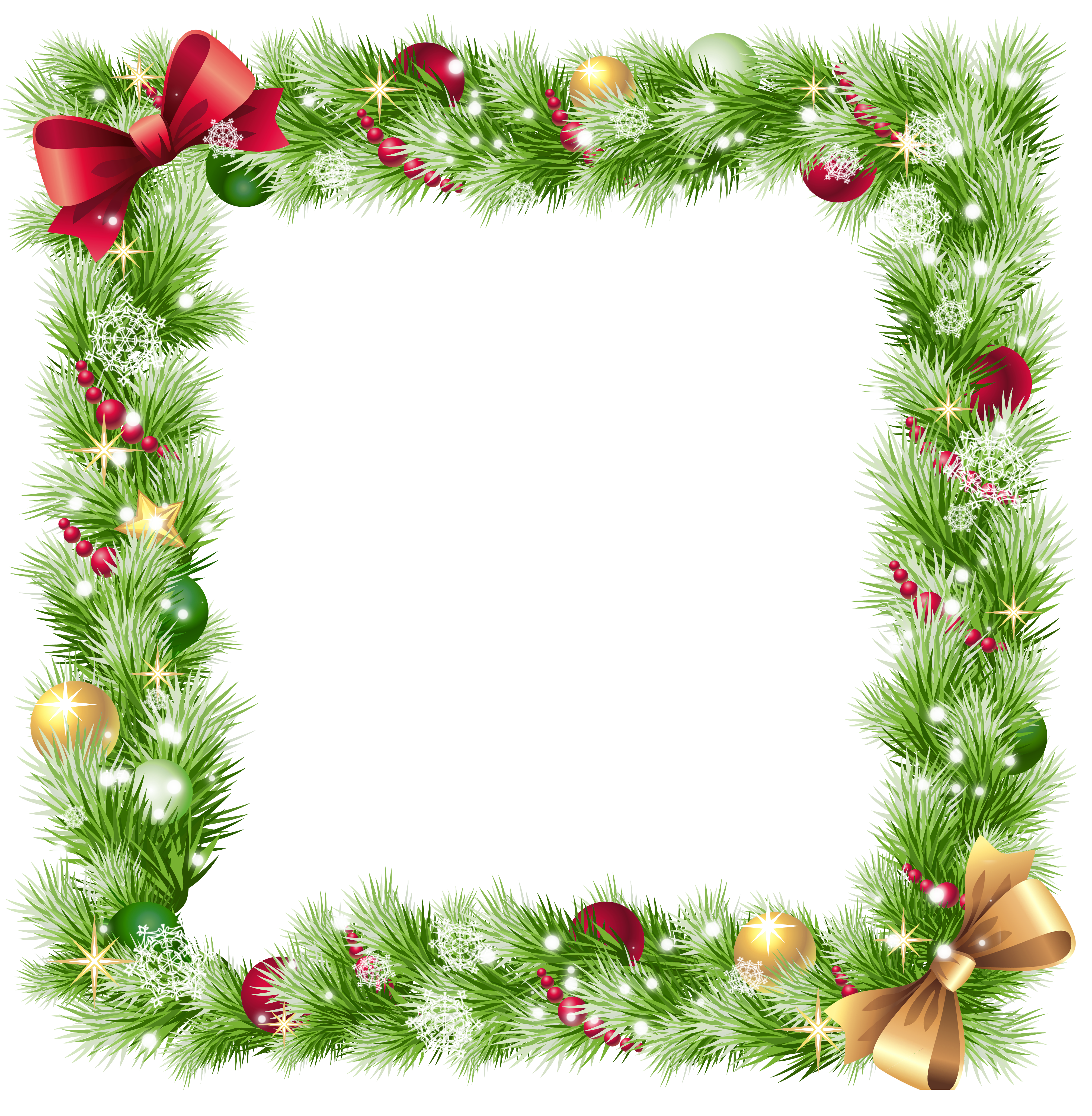 christmas frames and borders online clipground
