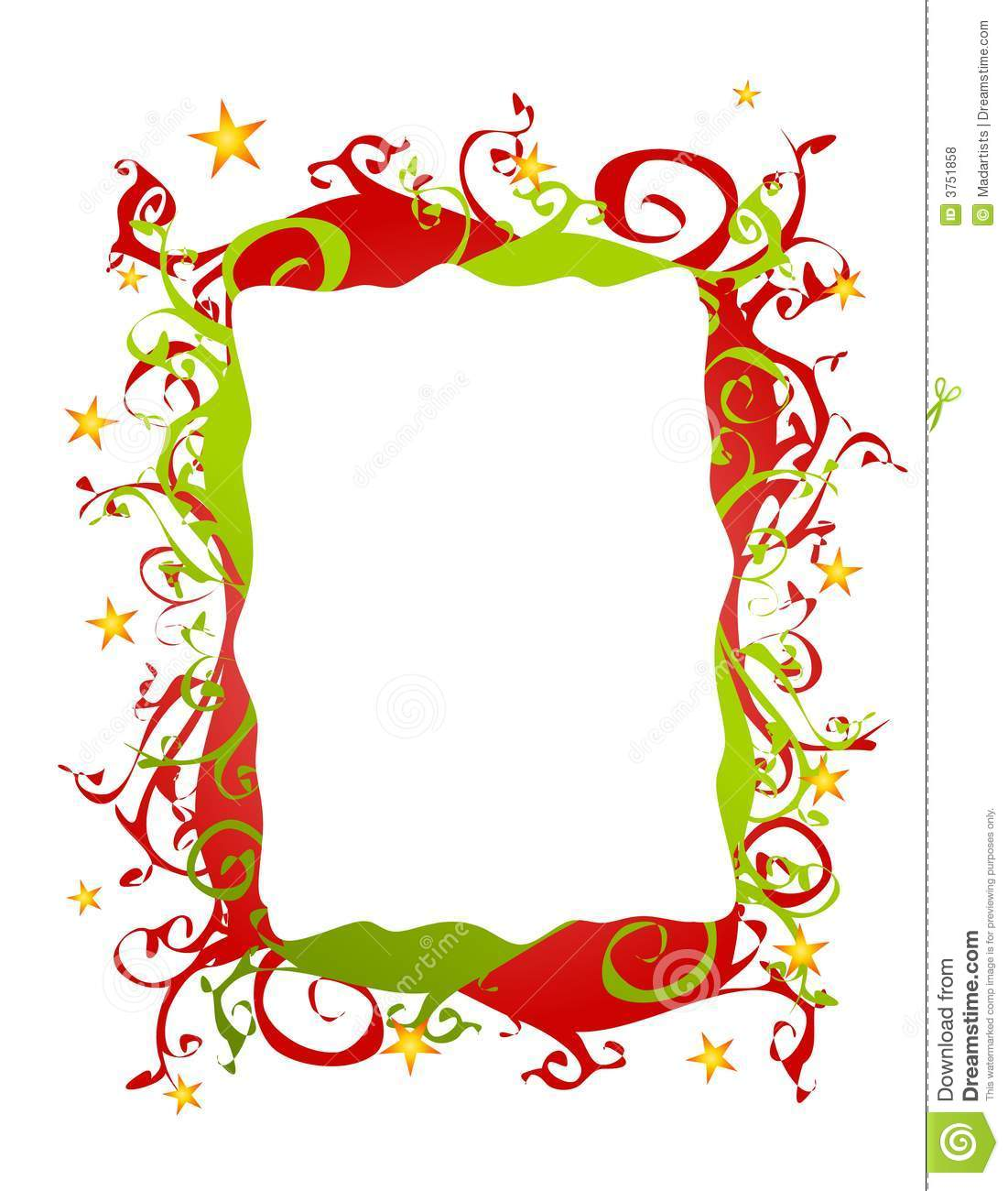 christmas border clipart free #3
