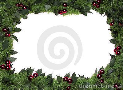 Christmas Border / Frame Stock Photography.