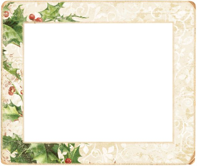 christmas frames and borders online - Clipground