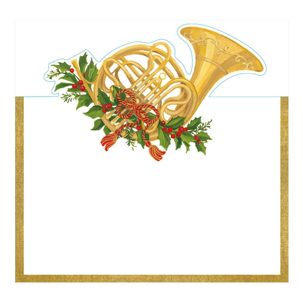 Christmas Concert French Horn Die.