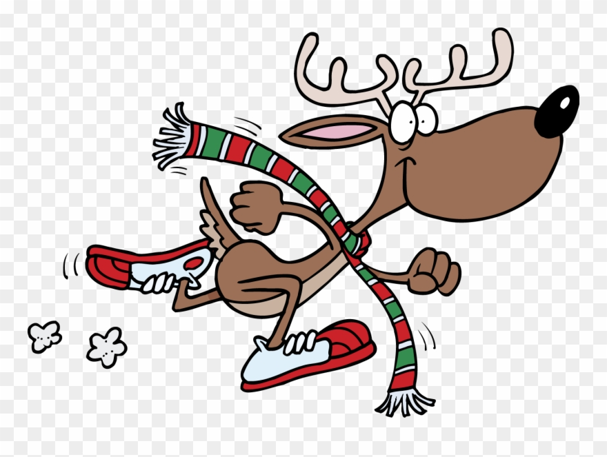 Christmas Fun Run Clipart Christmas.