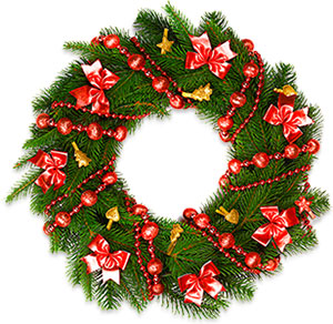 Christmas Garland Clipart Transparent Background 46px Image 14