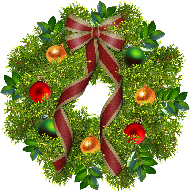 Christmas Garland Clipart With No Background.