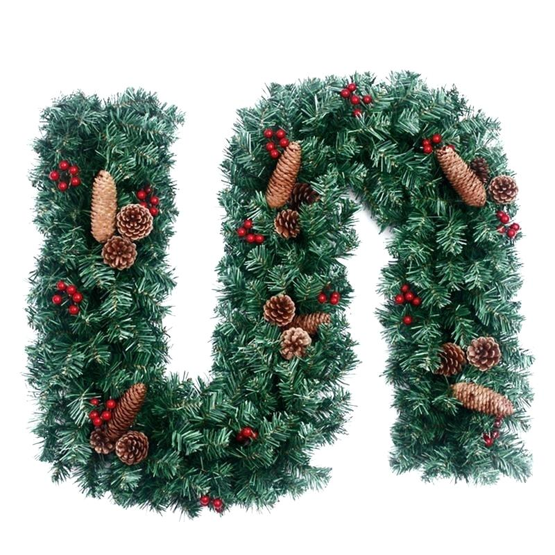 Christmas Garland New Arrival Year 2 7 Meters Holly Clipart With.