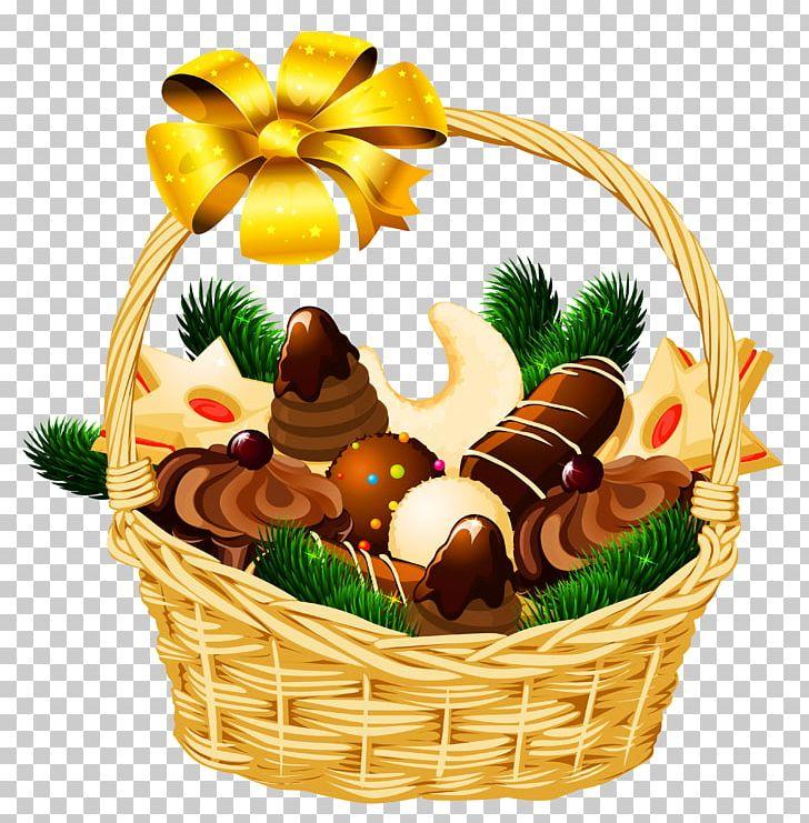 Gift Basket Christmas Hamper PNG, Clipart, Basket, Christmas.