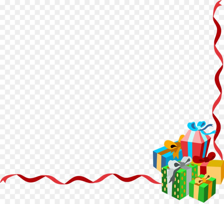 Christmas Tree Border png download.
