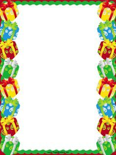 Christmas gifts border clipart » Clipart Portal.