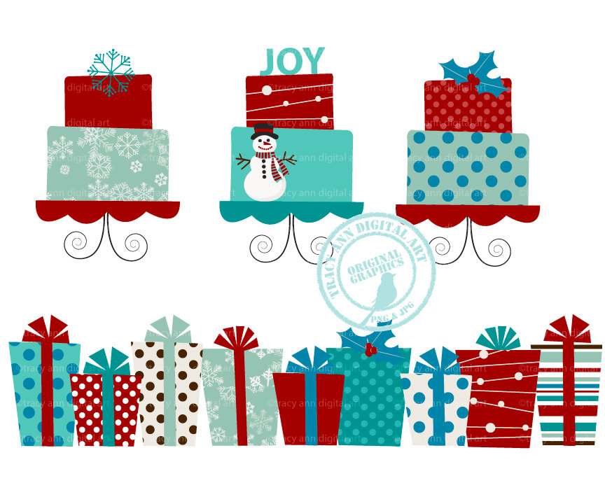 Christmas Present Border Clipart (108+ images in Collection) Page 3.