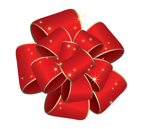 Showing post & media for Cartoon red gift bow.