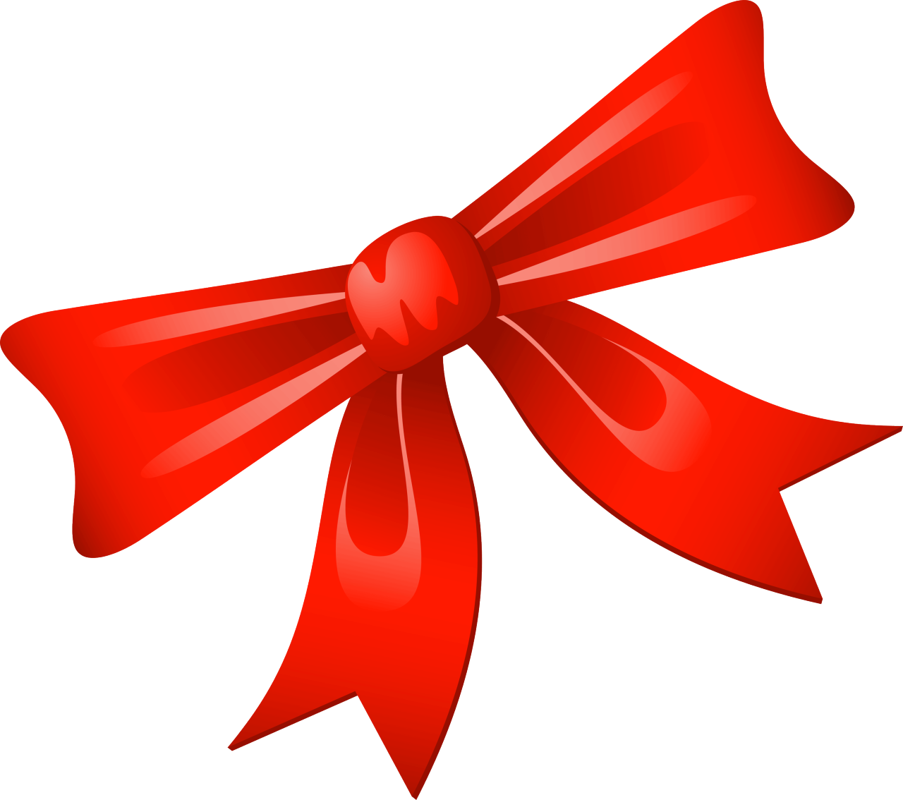 christmas gift bow clipart - Clipground