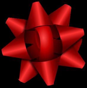 Red Ribbon Bow Clip Art at Clker.com.
