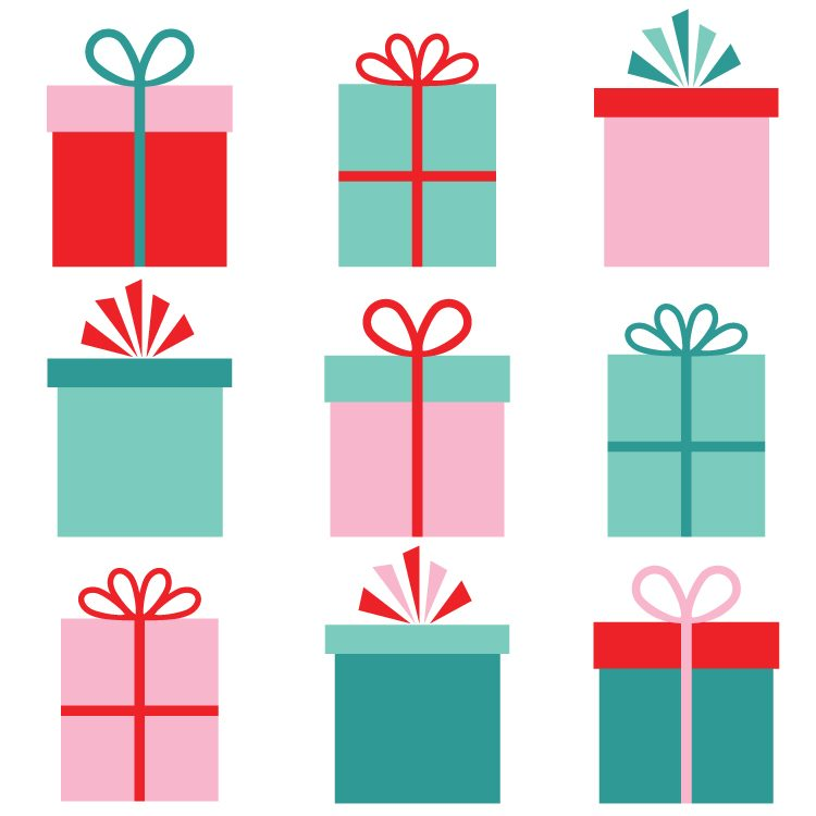 Christmas Clipart Gifts.