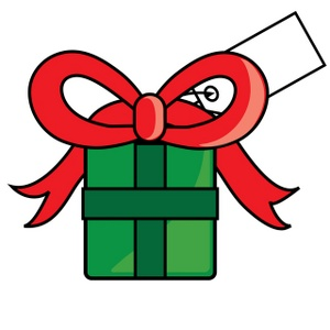 Christmas Gift Bag Clipart.