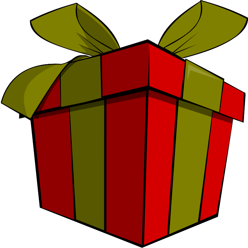 Christmas Gift Clipart.