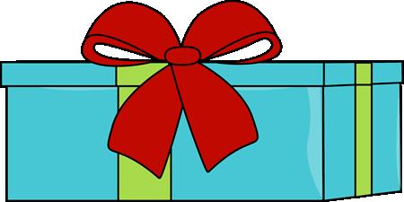 Christmas Gift Clipart Graphics.