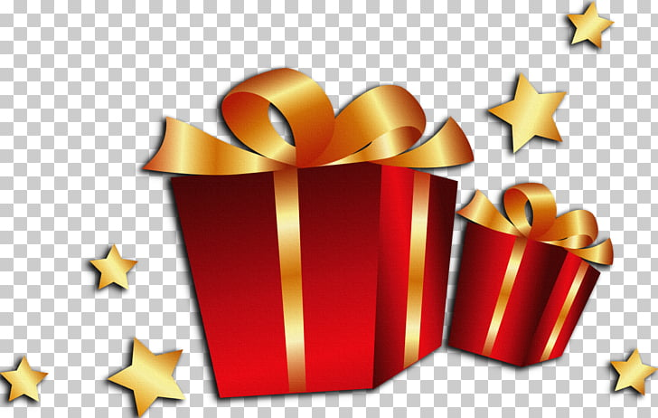 Christmas gift , giving gifts. PNG clipart.