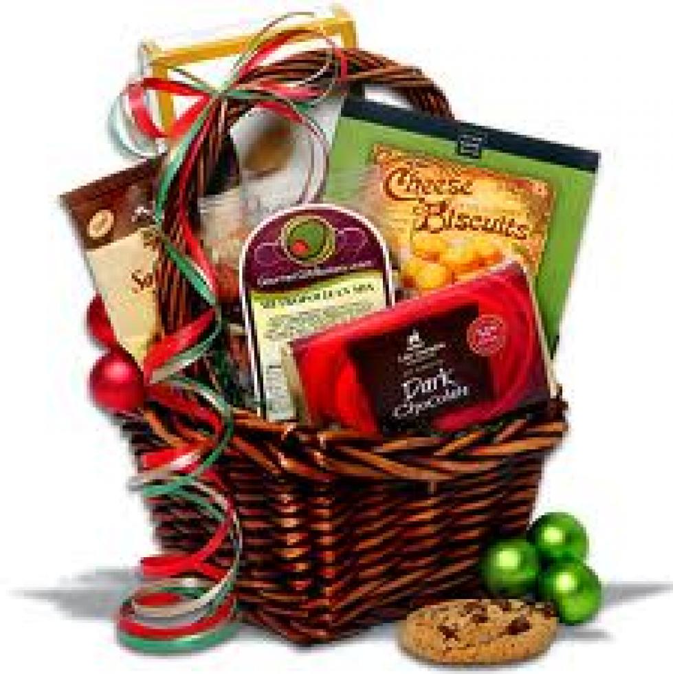Free Christmas Food Basket Clip Art.  sc 1 st  ClipGround & christmas gift packages clipart - Clipground