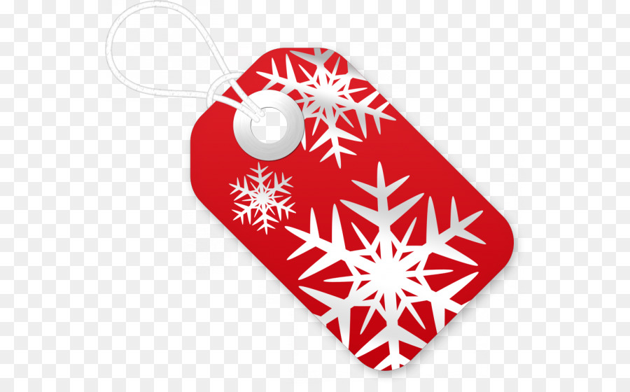 Christmas Gift Tag png download.