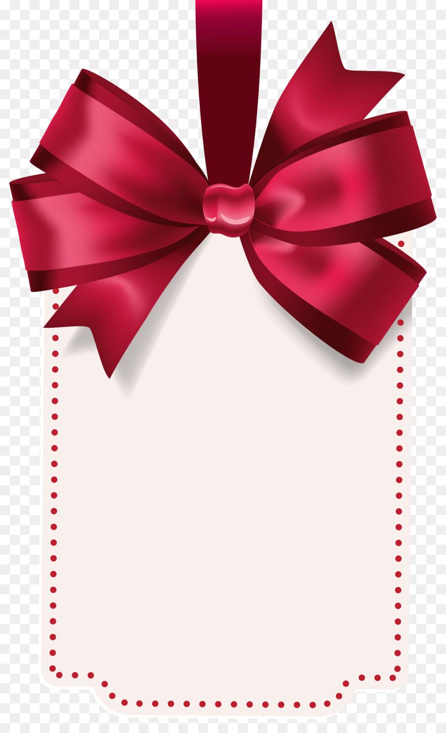 Christmas Gift Tag png download.