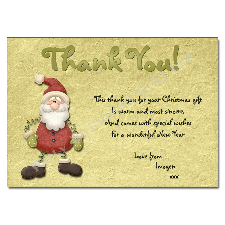 Christmas Thank You Clipart (94+ images in Collection) Page 1.
