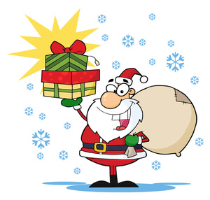 Free christmas with toys clipart.